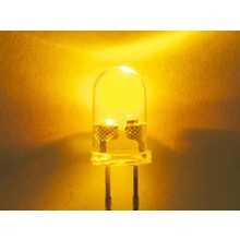5mm Led Yellow Clear (Flash)