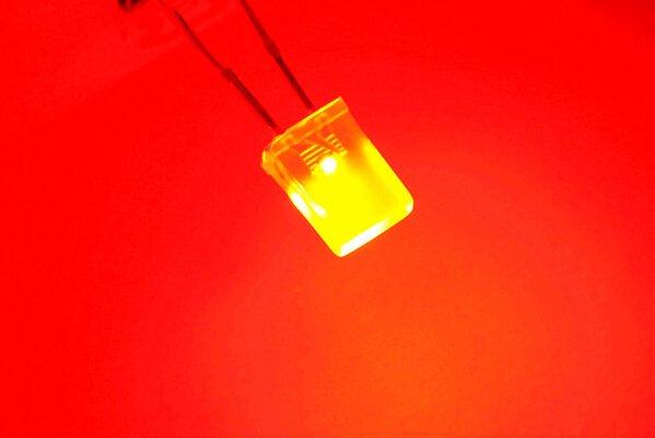 2x3x4mm Led Helder Rood