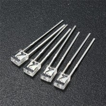 2x3x4mm Led Clear Cold White
