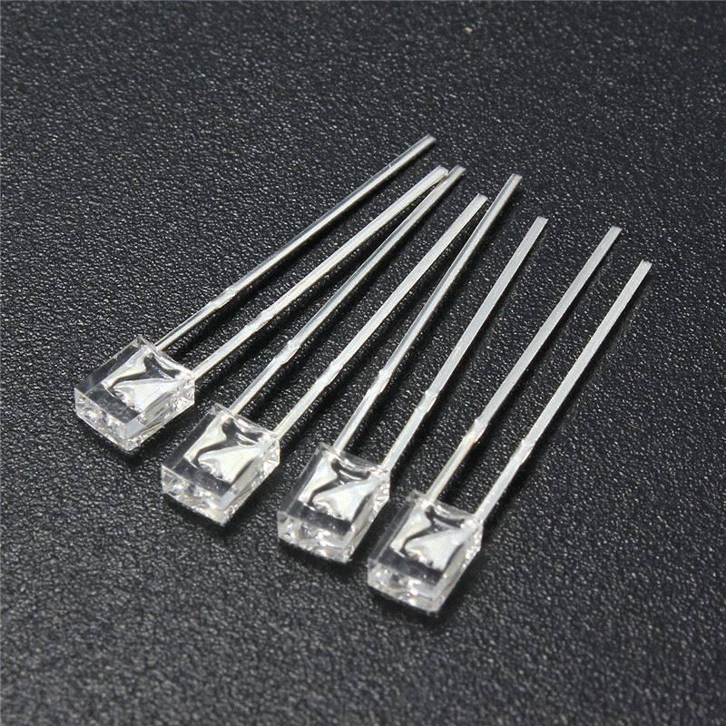 2x3x4mm Led Helder Koud Wit