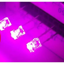 2x3x4mm Led Clear Pink