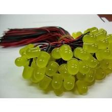 3mm Pre Wired Led Gekleurd Diffuus Geel