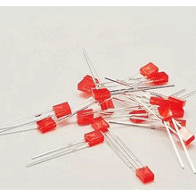 2x3x4mm Led Colored Diffused Red