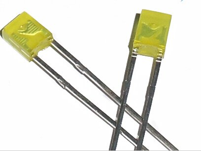 2x3x4mm Led Colored Diffused Yellow