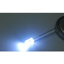 2x5x7mm Led Clear Cold White