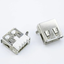 USB Connector Female Haaks 90 graden