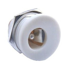 DC Power Connector 2,1 x 5,5mm Wit
