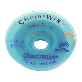 Chemtronics Desoldeerlint W:0,76mm; L:1,5m