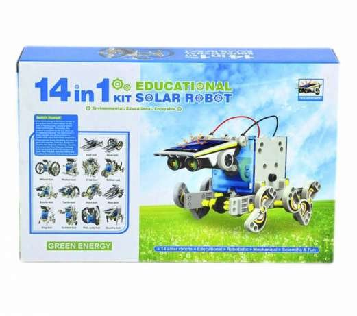 14 in 1 Robot on solar energy