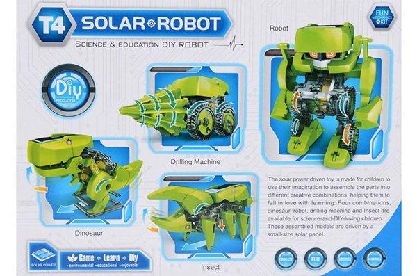 4 in 1 Robot op zonne energie