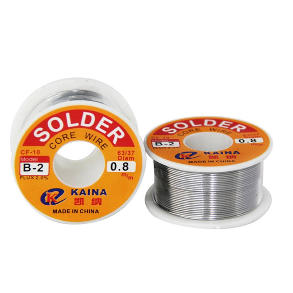 Kaina Kaina Soldeertin 0,8mm 100gram