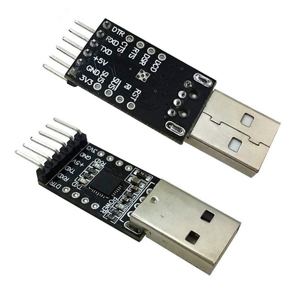 CP2102 USB 2.0 to TTL UART 6 Pin Black