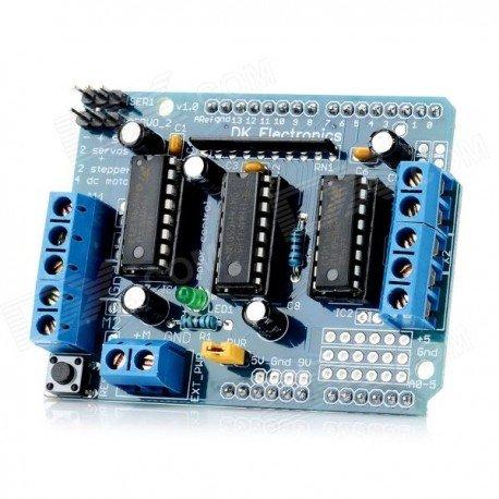 L293D Motor Shield voor Arduino