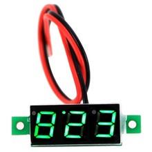 DC Voltmeter 0.28inch 3.5-30V 2 draads Groen