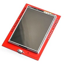Arduino 2,4 inch touch screen with SD card slot