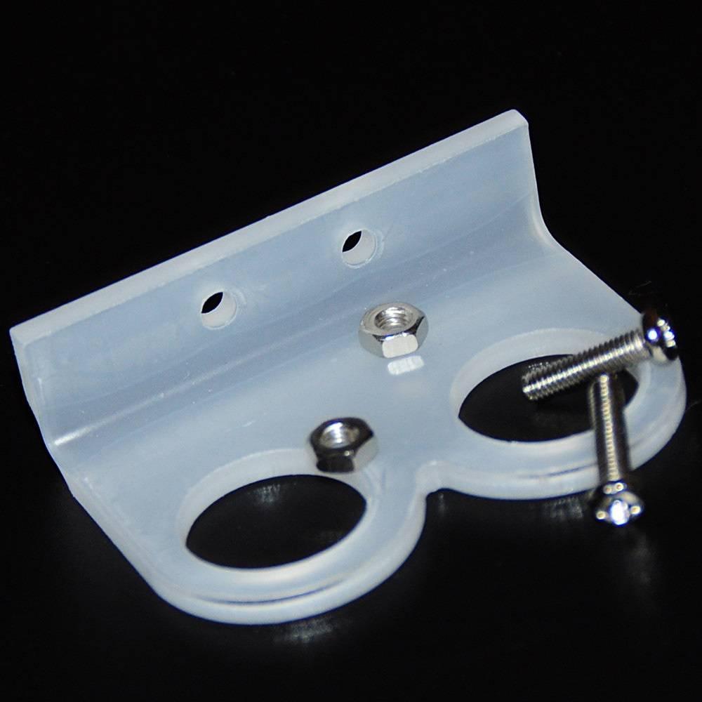 Holder for Ultrasonic Sensor HC-SR04 white