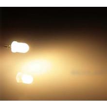 5mm Ronde Led Wit Diffuus Warm Wit