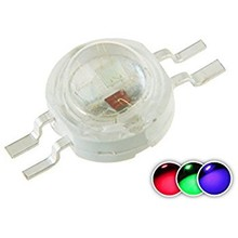 Mini High Power Led 3 Watt RGB 4 Pins