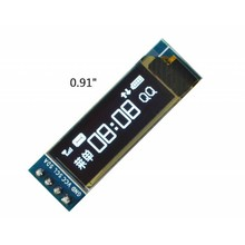 0.91 inch Oled Screen White I2C