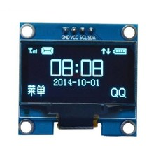 1.3 inch Oled Screen Blue I2C
