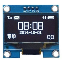 1.3 inch Oled Screen White I2C