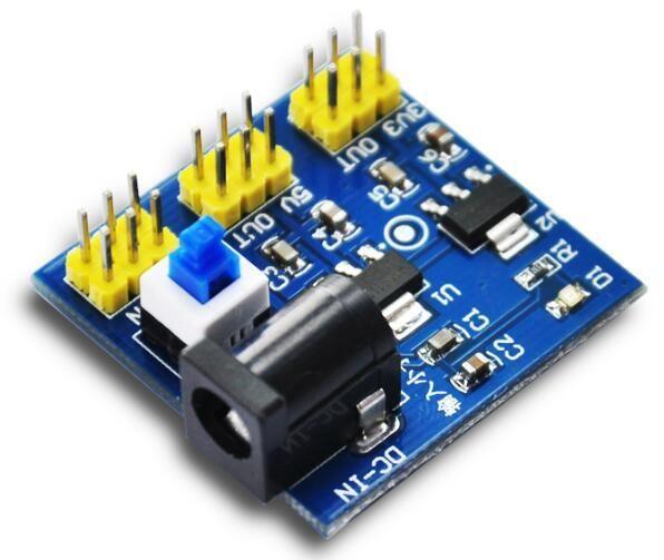 DC-DC multi output converter 12V naar 5V of 3V