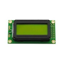 LCD 0802 Yellow Green background