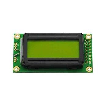 LCD 0802 Geel Groene achtergrond