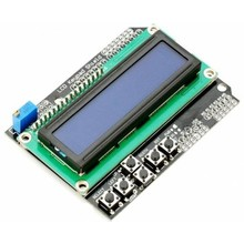 LCD Shield 2 x 16 Characters with blue background