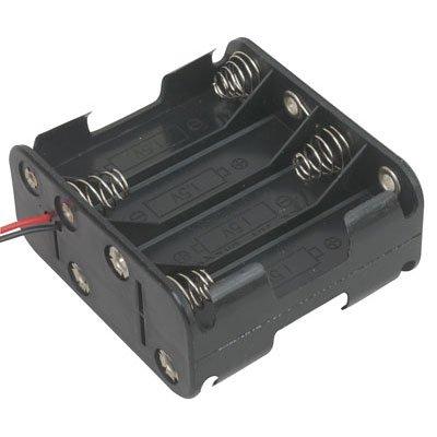COMF 8x 1,5V AA Batterijhouder
