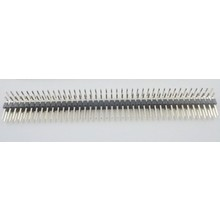 Header 2x40 Pins Zwart Male haaks