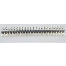Header Male 2x40 Pins Zwart 90 Graden