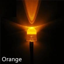 10mm Pre Wired led Oranje helder