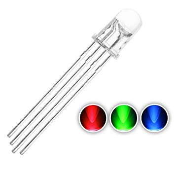 5mm Round Led RGB Common Cathode Clear