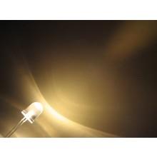 10mm Ronde Led Warm Wit Helder 0,5 Watt