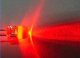 10mm Ronde Led Rood Helder 0,5 Watt