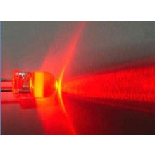 10mm Round Led Red Clear 0.5 Watt