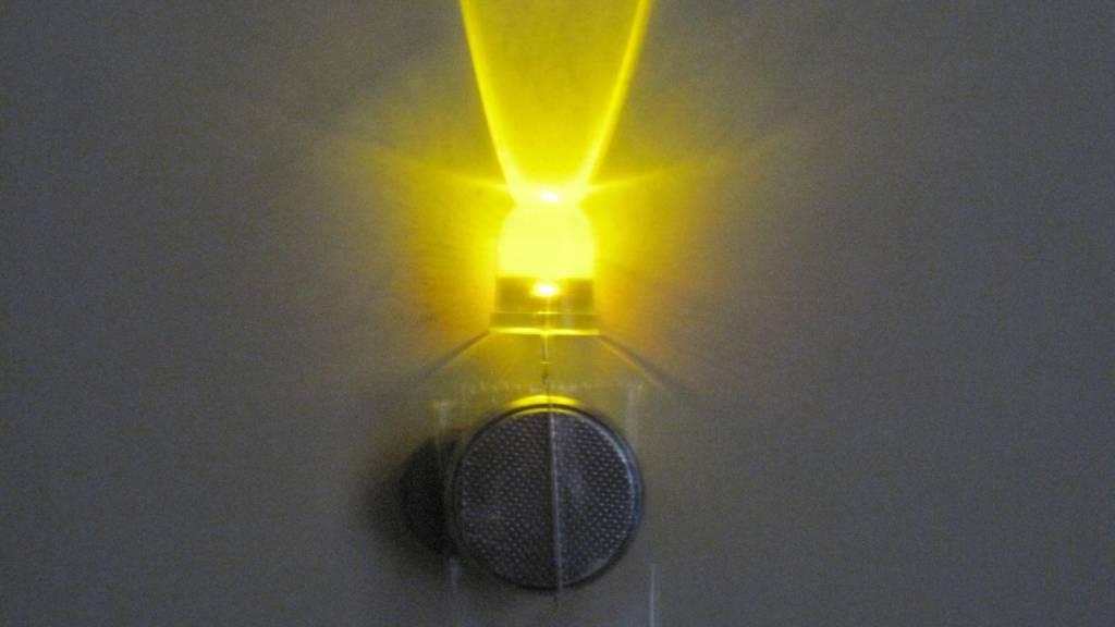10mm Ronde Led Geel Helder 0,5 Watt