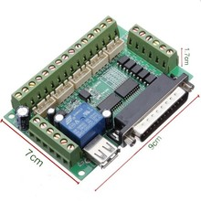 5 Axis CNC Breakout Board MACH3 Stappenmotor Driver