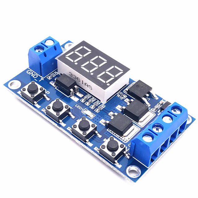XY-J04 timer with delay switch