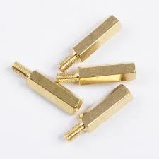 Brass Spacer sleeve M3x8mm