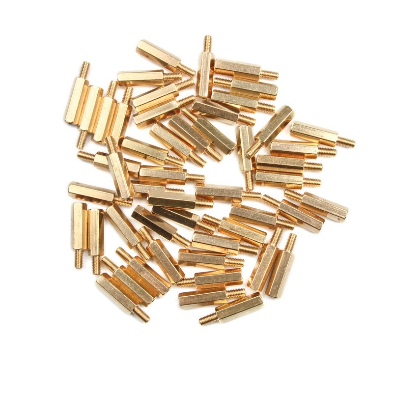Brass Spacer bush M3x18mm