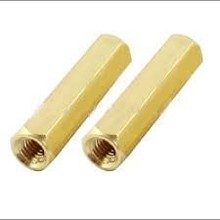 Brass Spacer M3x12mm 2x female