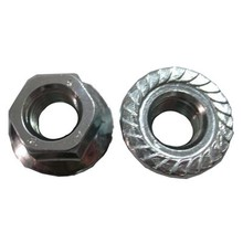 Stainless steel Metric flange nut M3