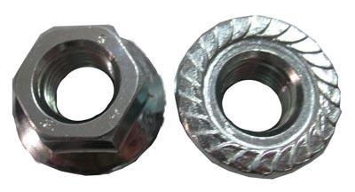 Stainless steel Metric flange nut M3