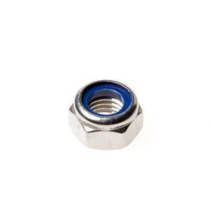 Stainless steel nut self-locking M3