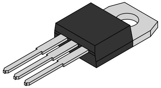 L7915CV Vaste Spanning Regelaar 15V 1,5A