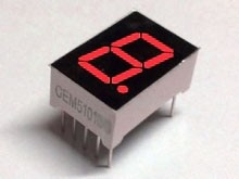 "7 Segment Display Red, 0.56 ""Common Anode"
