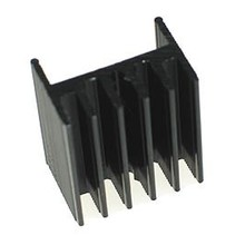 TO-220 Heat Sink Black