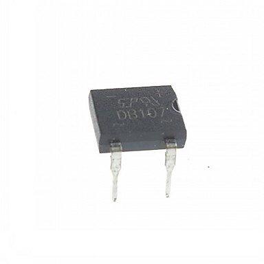 DB107 Gelijkrichter 1000V 1A